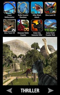 VR Games Store - náhled