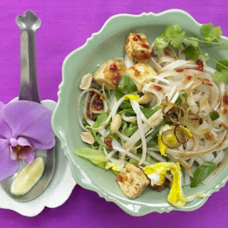 Thai Rice Noodle Stir-Fry.