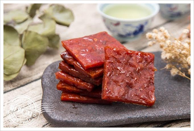 煙燻豬厚燒肉條