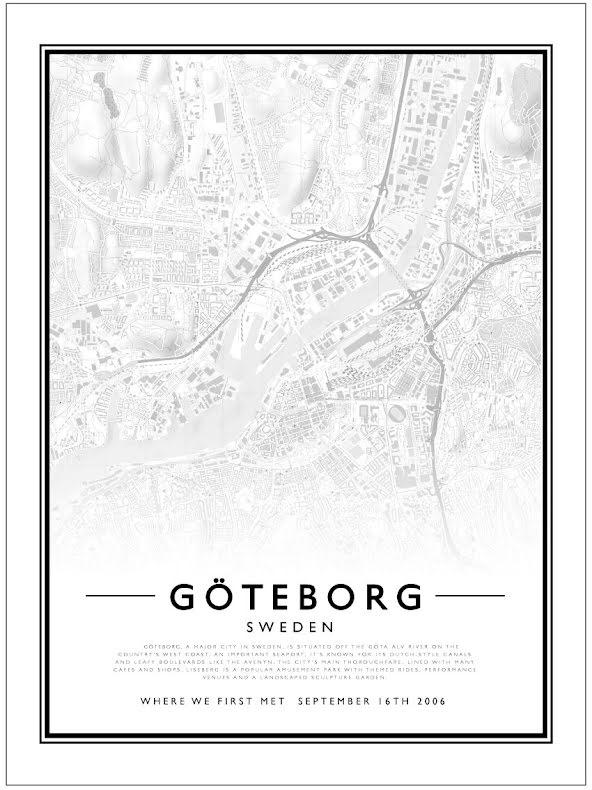 CITY MAP - GÖTEBORG
