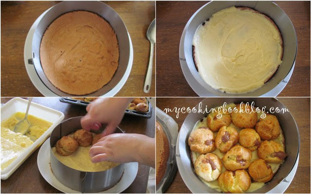 Торта с еклери за Рания