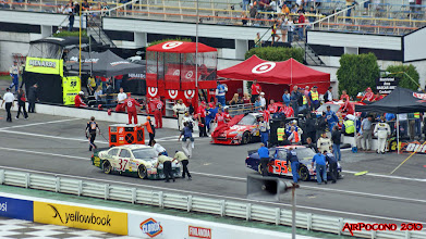 Photo: the cars start to roll