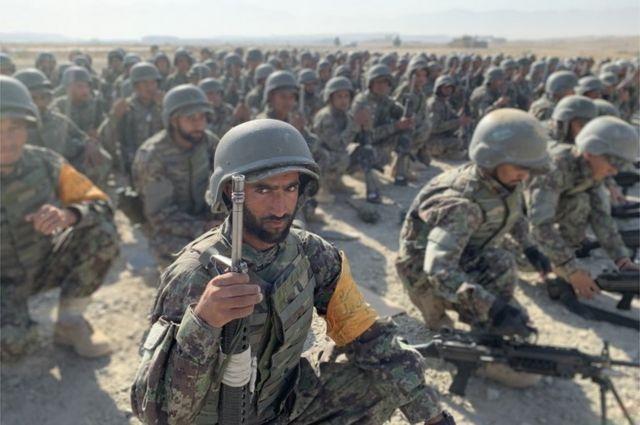 Афганские призывники