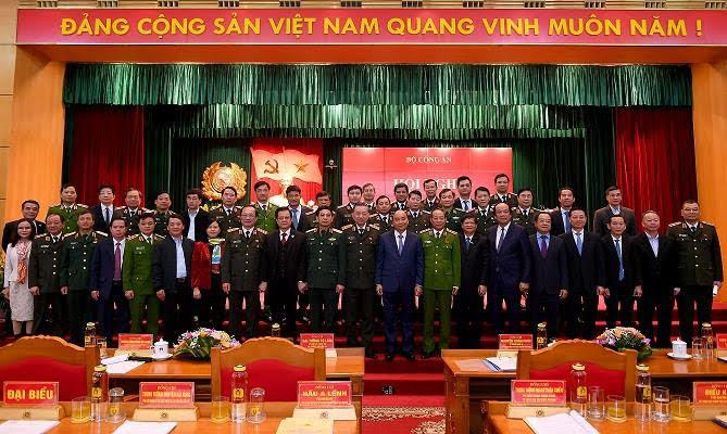 Các đại biểu tham dự Hội nghị Công an toàn quốc lần thứ 75.