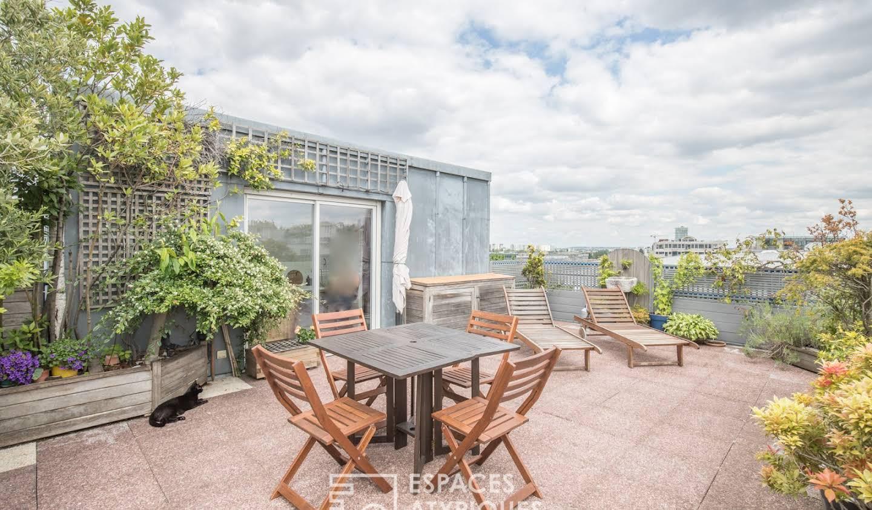 Appartement avec terrasse Pantin