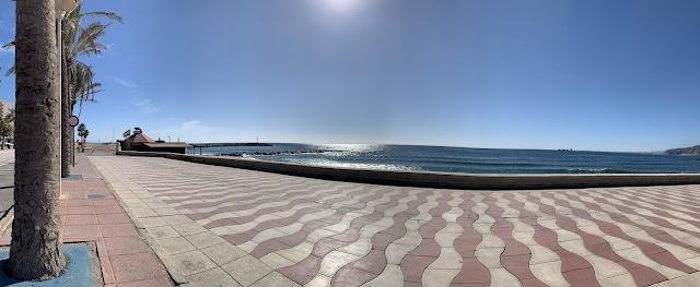 Vista panorámica desde el Paseo Marítimo.