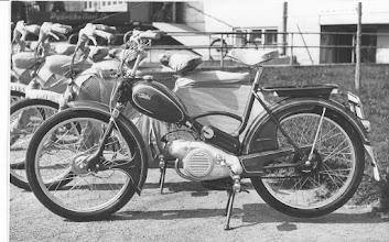 Photo: Tunturi 56 ensimmäinen Puch -koneinen malli