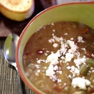 Pressure Cooker Lentil-Barley Soup.