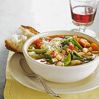 Mixed Vegetable Minestrone.
