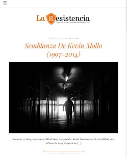 Revista La Resistencia- screenshot thumbnail