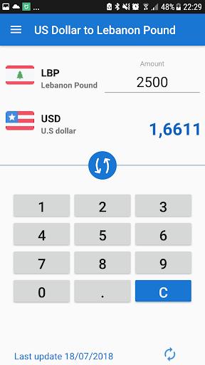 Us Dollar To Lebanese Pound Usd Lbp Converter Screenshot 2