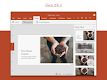 screenshot of Microsoft PowerPoint: Slideshows and Presentations