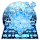 Download Winter Blue Diamond Snowflake Keyboard For PC Windows and Mac