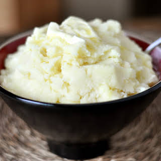 Roasted Garlic and Parmesan Mashed Potatoes.