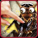 Bug smasher icon