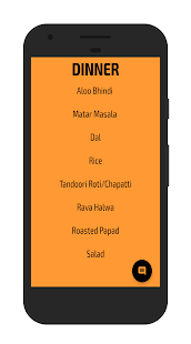 Mess Menu NMIMS Shirpur- screenshot thumbnail