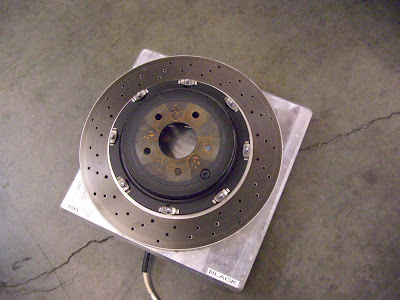 R35 GT-R Rear Brake rotor weight
