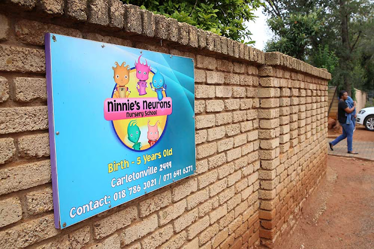 Ninnie's Neurons Nursery School where a teacher was seen beating a child in a video making rounds on social media.