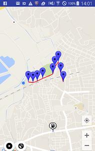 ガソリンスタンドマップ(簡易GPSロガー機能付) screenshot 3