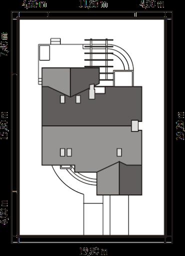 Nastka G1 z piwnicą - Usytuowanie
