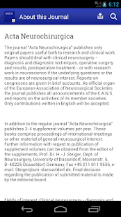 Acta Neurochirurgica- screenshot thumbnail
