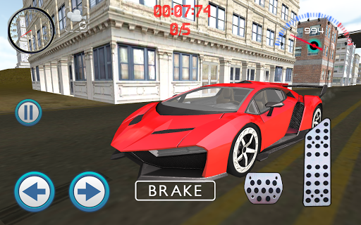 玩賽車遊戲App|肌肉車駕駛城馬免費|APP試玩
