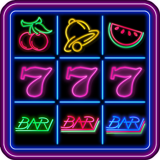 777 Slot Fruit Neon