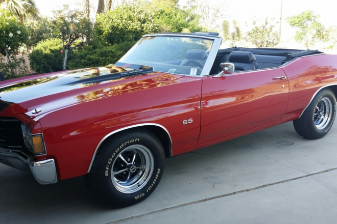1972 Chevelle Hire CA