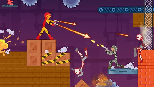 Stickman Destroy - Super Warriors Destruction screenshot 2