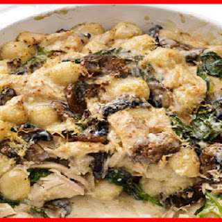 Baked Gnocchi with Chicken Smartpoints 9