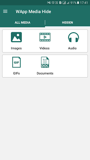 Hide image, video of whatsapp  screenshots 2