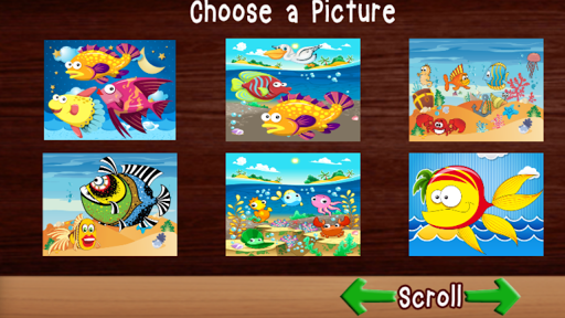Fish Puzzle Games Free - Kids