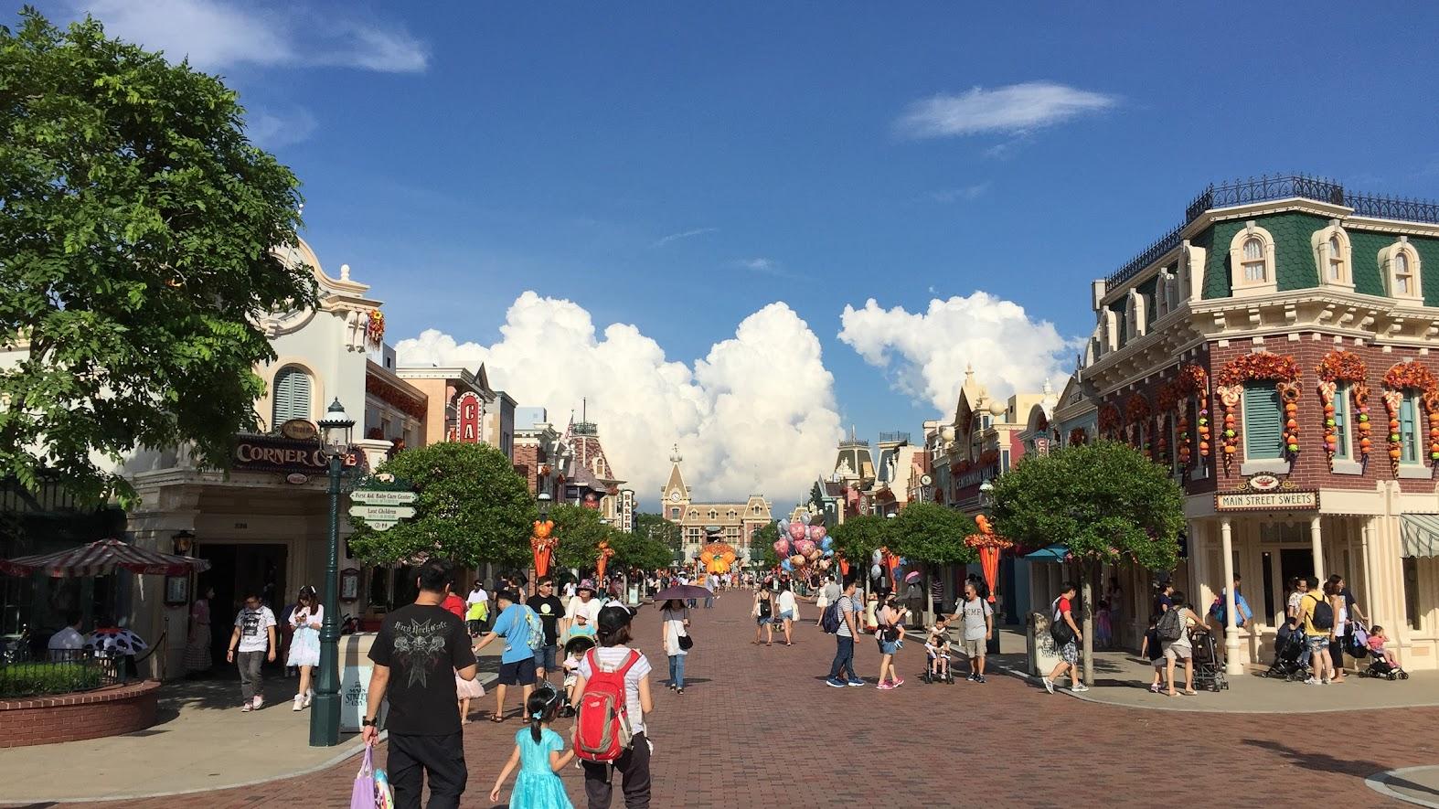 Hong Kong Disneyland Mainstreet