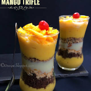 Mango Trifle.