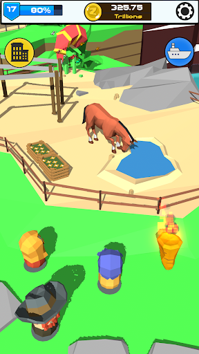 Idle Zoo 3D: Animal Park Tycoon android2mod screenshots 18