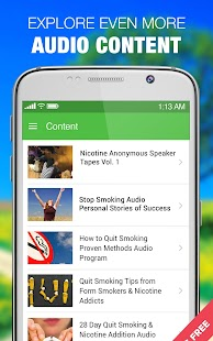 Stop Smoking Quit Cessation Success Stories- screenshot thumbnail