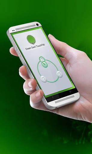 グリーン渦巻きGurīn uzumaki TouchPal