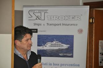 Photo: Dott. Franco Sanna S&T Broker - Ships & Transport Insurer