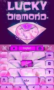 Lucky-Diamond-GO-Keyboard 1