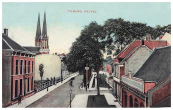 Photo: 1909 - Noordzijde van de Heuvel