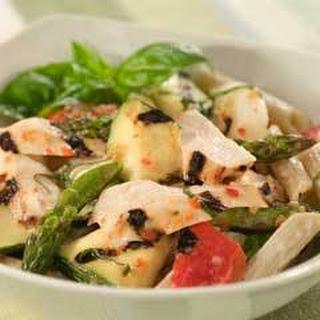 Grilled Chicken & Veggie Pasta Salad.