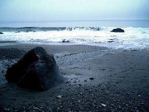 Photo: Where waves crash