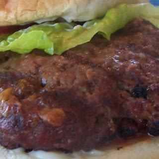 Cheddar Bacon Hamburgers Recipe