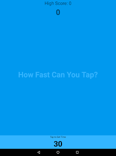 How Fast Can You Tap? - náhled