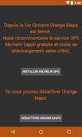Screenshot of Orange Maps