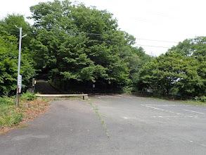 山頂駐車場(ここから山頂まで一分)