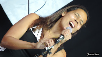 Photo: Rhiannon Giddens: strong and powerful