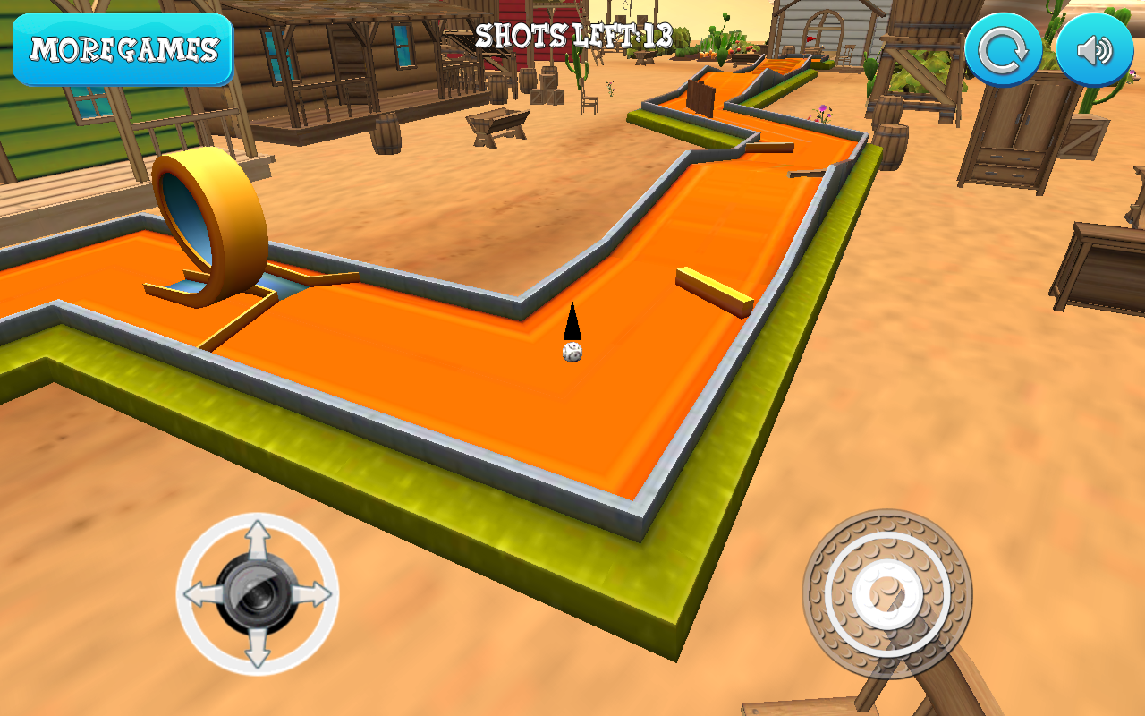 Mini Golf: Western Adventure- screenshot