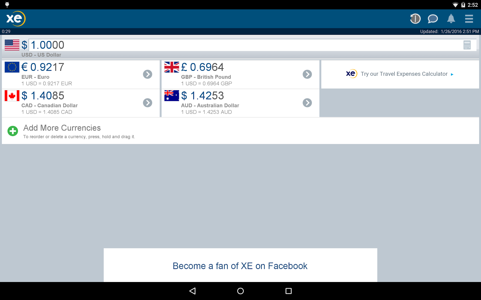 XE Currency screenshot #6