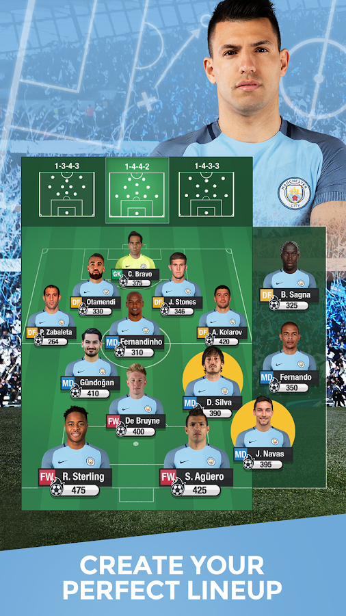 Manchester City Manager '17- screenshot